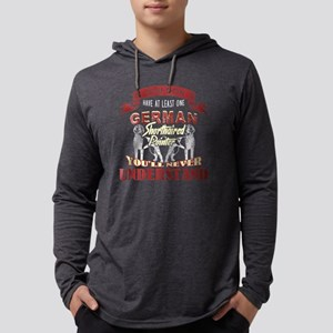 german shorthaired pointer shirt Mens Hooded Shirt
