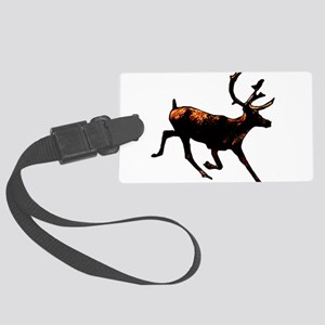 The Reindeer Large Luggage Tag