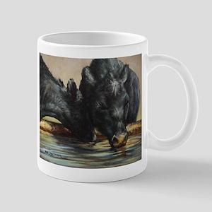 Two Black Angus Mug