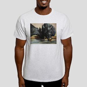 Two Black Angus Light T-Shirt