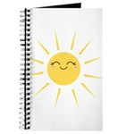 Kawaii smiley sun Journal