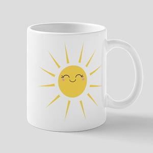 Kawaii smiley sun Mug