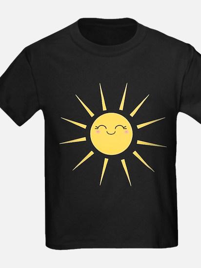 Kawaii smiley sun T