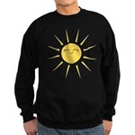 Kawaii smiley sun Sweatshirt (dark)