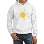 Kawaii smiley sun Hooded Sweatshirt