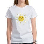 Kawaii smiley sun Women's T-Shirt