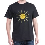 Kawaii smiley sun Dark T-Shirt