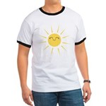 Kawaii smiley sun Ringer T