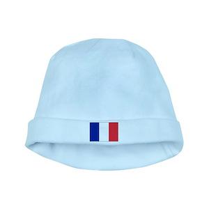 8d518b400b1 France Le Coq Flag Baby Hats - CafePress