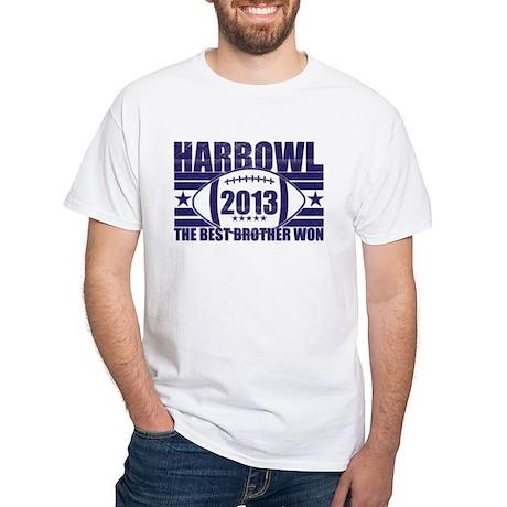 Harbowl 2013 White T-Shirt