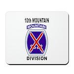 10TH MOUNTAIN DIVISION Mousepad