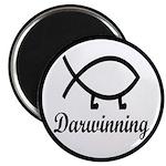 Darwinning Evolution Darwin Fish Magnet