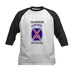 10TH MOUNTAIN DIVISION Kids Baseball Jersey