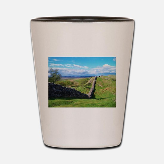 Hadrian's Wall Shot Glass