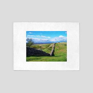 Hadrian's Wall 5'x7'Area Rug