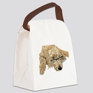 Goldendoodle Stella Canvas Lunch Bag