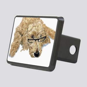 Goldendoodle Stella Rectangular Hitch Cover