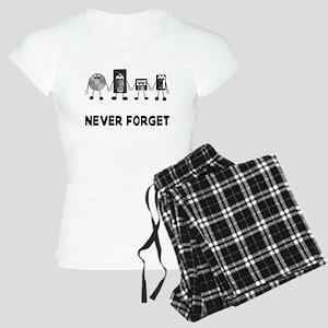 Never Forget Obselete Women's Light Pajamas