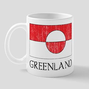 Retro Greenland Flag Mug