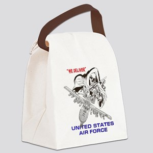 MILITARY AIRCRAFT (DARK) Canvas Lunch Bag