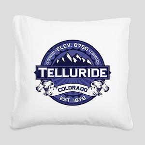 Telluride Midnight Square Canvas Pillow