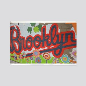 Brooklyn - Red Road to Mars Rectangle Magnet