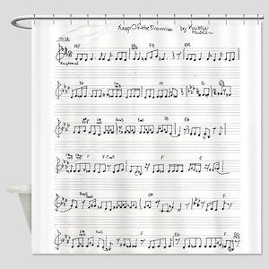 handwritten sheet music song keep of the promise v