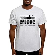 Black Logo Type 1 with slogan T-Shirt