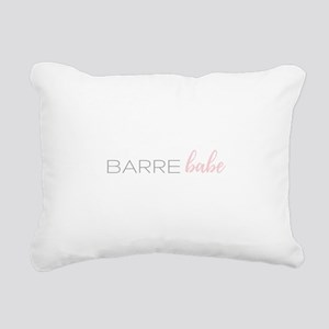 Barre Babe Rectangular Canvas Pillow