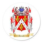 Arnull Round Car Magnet