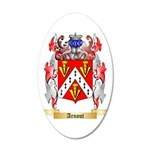 Arnout 35x21 Oval Wall Decal