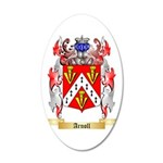 Arnoll 35x21 Oval Wall Decal