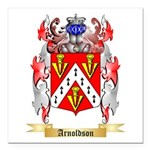 Arnoldson Square Car Magnet 3