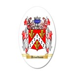 Arnoldson 35x21 Oval Wall Decal