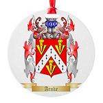 Arnke Round Ornament