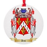 Arni Round Ornament