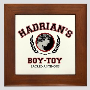 Hadrian's Boy-Toy Framed Tile