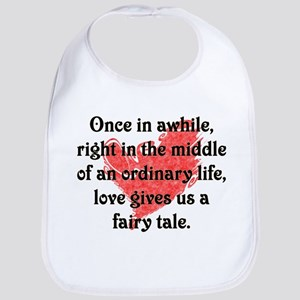 Baby Shower, Fairy Tale Love Bib