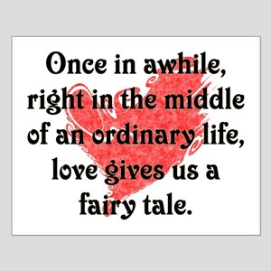 Fairy Tale Love Small Poster