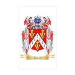 Arnett Sticker (Rectangle 50 pk)