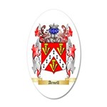 Arnell 35x21 Oval Wall Decal