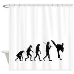 Evolution of Tae Kwan Do Shower Curtain