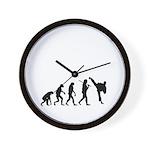 Evolution of Tae Kwan Do Wall Clock