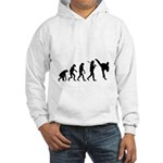 Evolution of Tae Kwan Do Hooded Sweatshirt