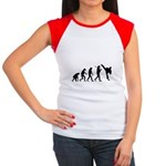 Evolution of Tae Kwan Do Women's Cap Sleeve T-Shir