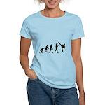 Evolution of Tae Kwan Do Women's Light T-Shirt