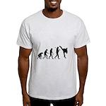 Evolution of Tae Kwan Do Light T-Shirt