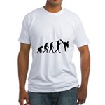 Evolution of Tae Kwan Do Fitted T-Shirt