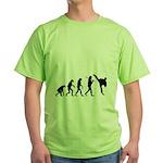 Evolution of Tae Kwan Do Green T-Shirt