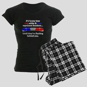 Freedom Women's Dark Pajamas